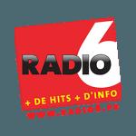 logo Radio 6 partenaire du trail des 2 baies